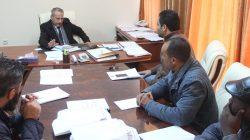 رئيس الجامعة يلتقي بمدراء مكاتب النشاط الطلابي بالجامعة