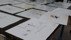 قسم الفنون بكلية الاداب صبراتة ينظم ورشة عمل بعنوان كيفية رسم الكاركاتير