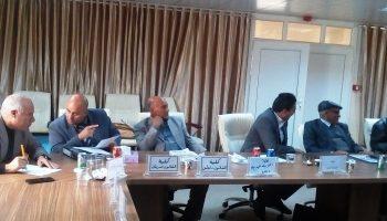 لجنة شؤون اعضاء هيأة التدريس جامعة صبراتة تعقد اجتماعها الثالث بقاعة الاجتماعات بالادارة العامه