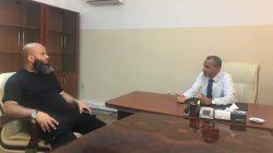 رئيس الجامعة يجتمع  مع جهاز المباحث الجنائية صبراتة لمناقشة استعدادات الوضع الأمني لامتحانات الثانوية