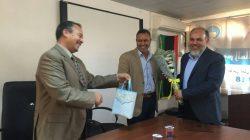 تكريم الدكتور المهدي الدباشي العميد السابق لكلية الاداب صبراتة