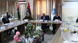 مجلس جامعة صبراته يعقد اجتماعه السادس بقاعة الاجتماعات بالادرة العامه للجامعة