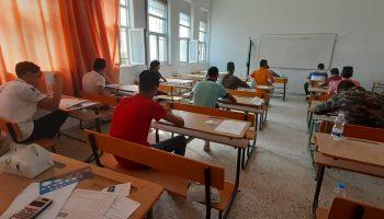 اختتام  إمتحانات شهادة إتمام مرحلة التعليم الثانوي بكلية الاقتصاد صرمان