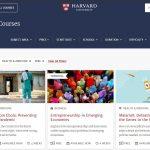 عدد كبير من الكورسات التعليمية المجانية عبر الانترنت مقدمة من جامعة هارفرد
