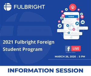 حلقة عبر الانترنت برنامج فولبرايت و شروط الترشح الوثائق اللازمة وكيفية المشاركة يوم الخميس 26 مارس 2020