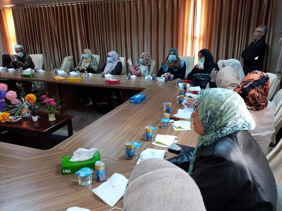 مكتب الريادة والابتكار جامعة صبراتة يحيي اليوم العالمي للمرأة تحت شعار المرأة صانعة التغيير06