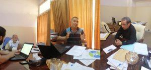 لقاء تشاوري بخصوص اجتماع الجامعات المتوسطية ، ومناقشة التقرير الخاص ببرنامج LIBYA RESTART