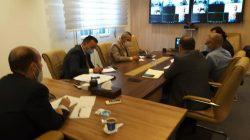 اجتماع وزير التعليم المكلف الدكتور  – محمد عماري زايد – مع رؤساء الجامعات اللييية