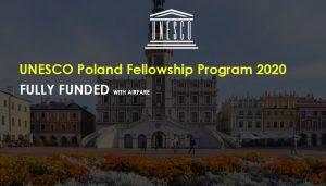 اعلان عن بدء التقديم لبرنامج الزمالات المشتركة بين اليونسكو وبولندا في علم الآثار والحفظ، 2020-2021