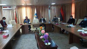 اجتماع اللجنة العلمية الاستشارية لمكافحة جائحة فيروس كورونا