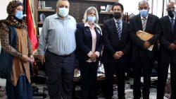 انعقاد اجتماع تنسيقي بين رئيسة وحدة دعم وتمكين المرأة بالمجلس الرئاسي ورئيس وأعضاء المجلس الاستشاري الوطني للأسبوع العالمي لريادة الأعمال ليبيا_2020