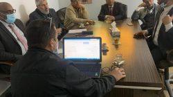 اجتماع إدارة الدراسات العليا والتدريب بالجامعة مع إدارة الدراسات العليا بوزارة التعليم