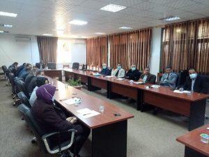 اجتماع المجلس العلمي لجامعة صبراتة