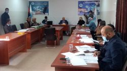 """جلسة حوارية علمية بعنوان """"مراجعة وتقييم قوانين الهجرة واللجوء في ليبيا برعاية منظمة التعاون والاغاثة العالمية بالتعاون مع مشروع شارب"""""""