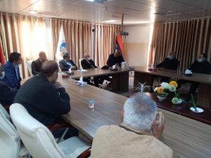 الاجتماع الأول للجنة شؤون أعضاء هيئة التدريس بالجامعة
