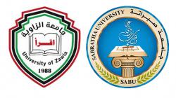 لقاء عمل بين جامعة صبراته وجامعة الزاوية