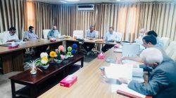 اجتماع اللجنة العلمية لشؤون اعضاء هيئة التدريس رقم (10)بجامعة صبراته