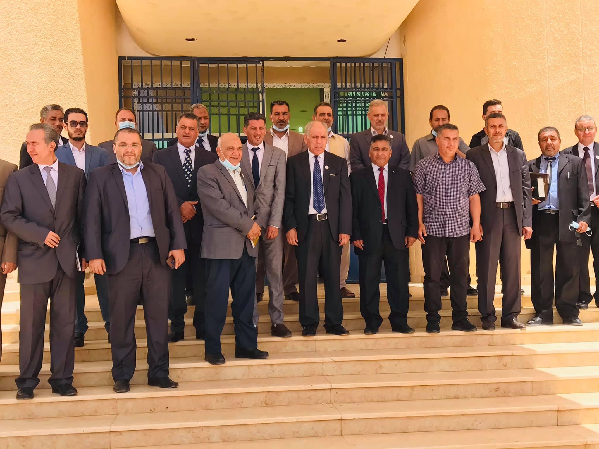 Read more about the article اتفاقية تعاون أكاديمي بين جامعة صبراتة وجامعة نالوت