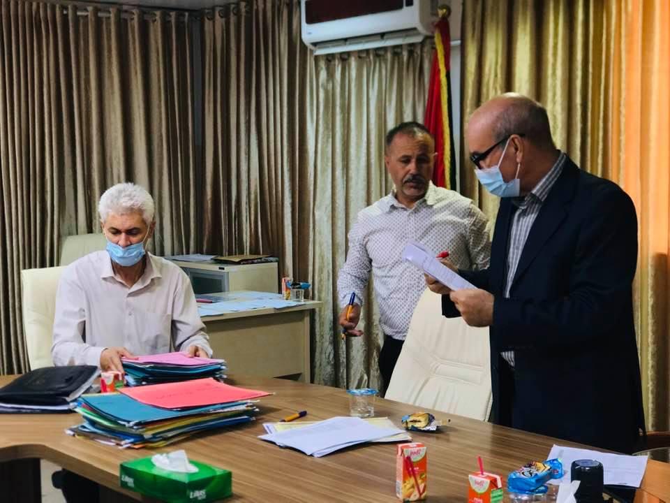 الاجتماع الحادي عشر لجنة شؤون أعضاء هيأة التدريس جامعة صبراته