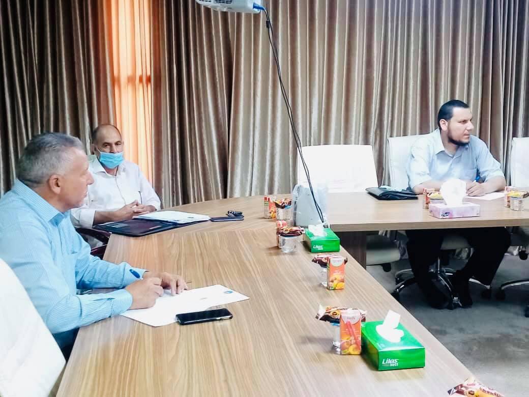 اجتماع رؤساء مكاتب الجودة بالجامعه