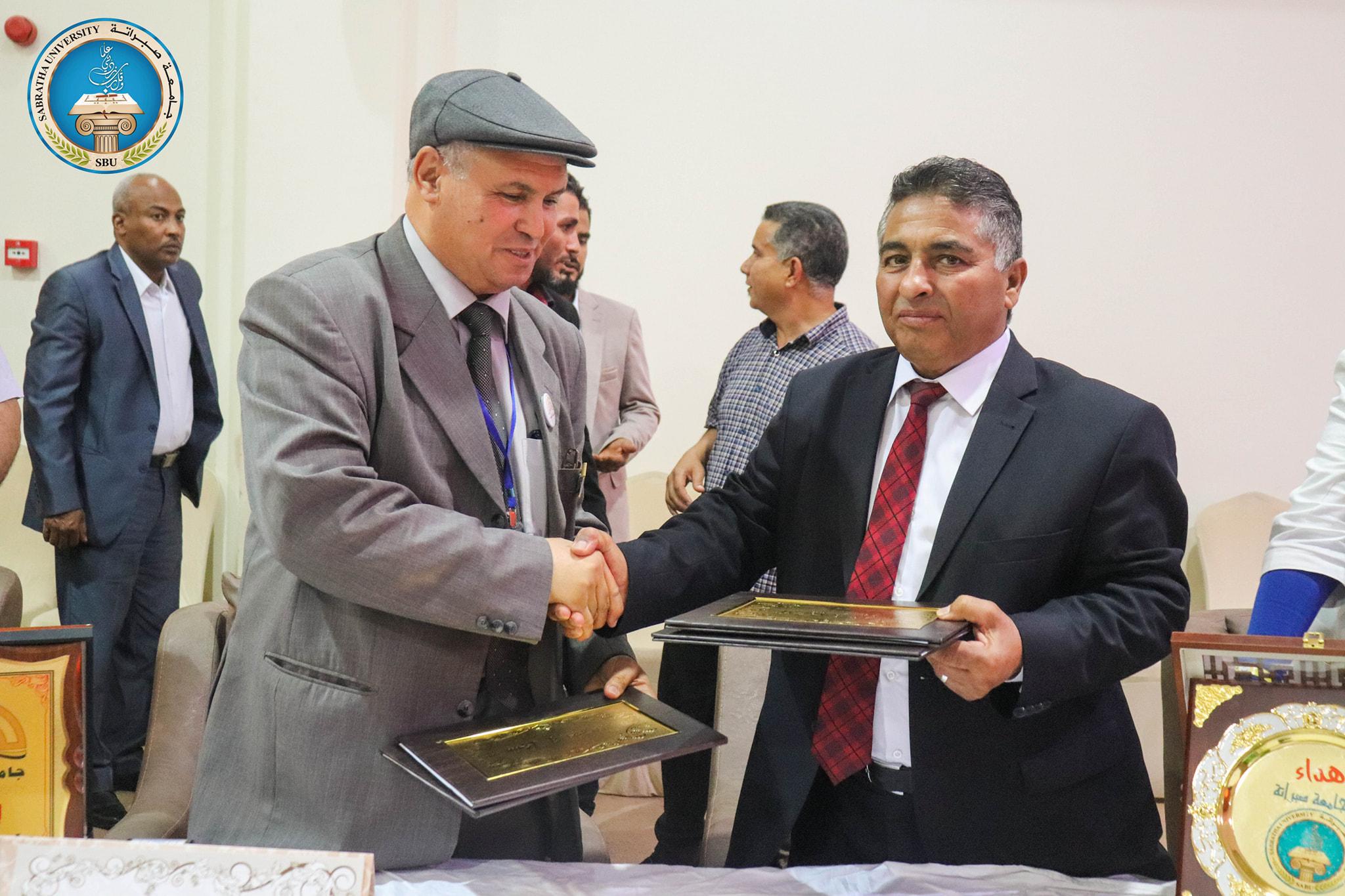 اتفاقية تعاون بين جامعة صبراته وجامعة الجفرة