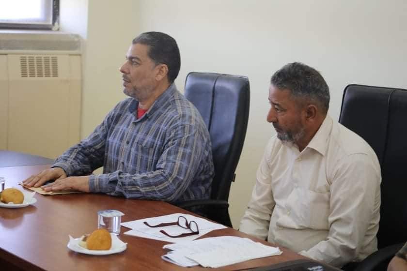 الاجتماع الأول لمدراء النشاط بالجامعات الليبيه بجامعة بنغازي