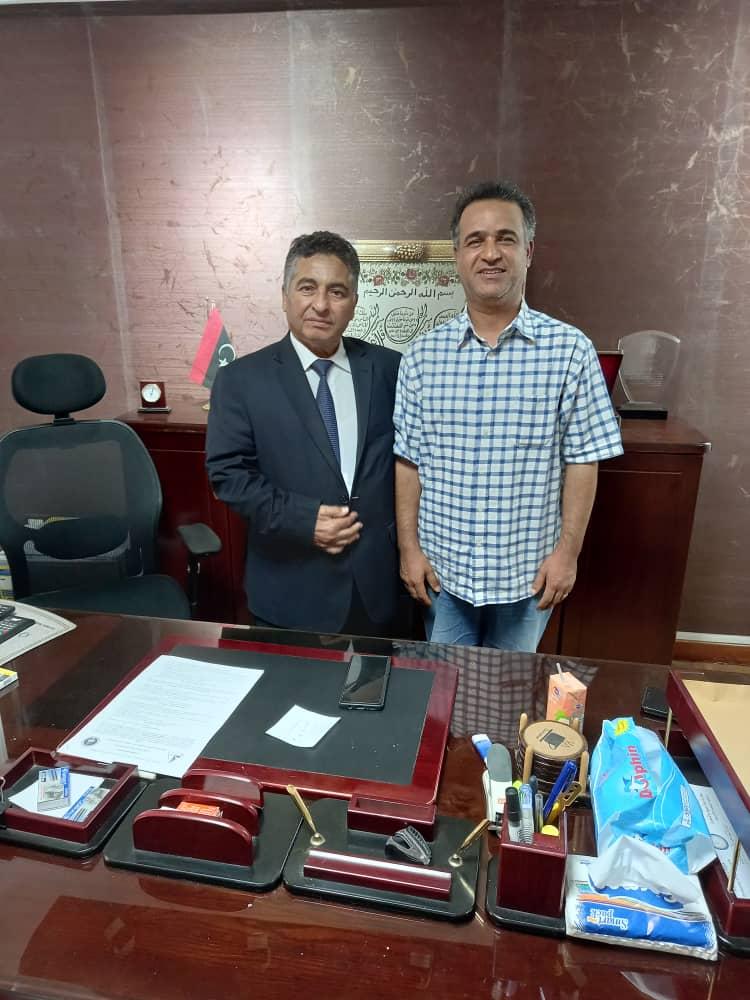 وفد جامعة صبراتة بجمهورية مصر العربية لتوقع عدد من الاتفاقيات