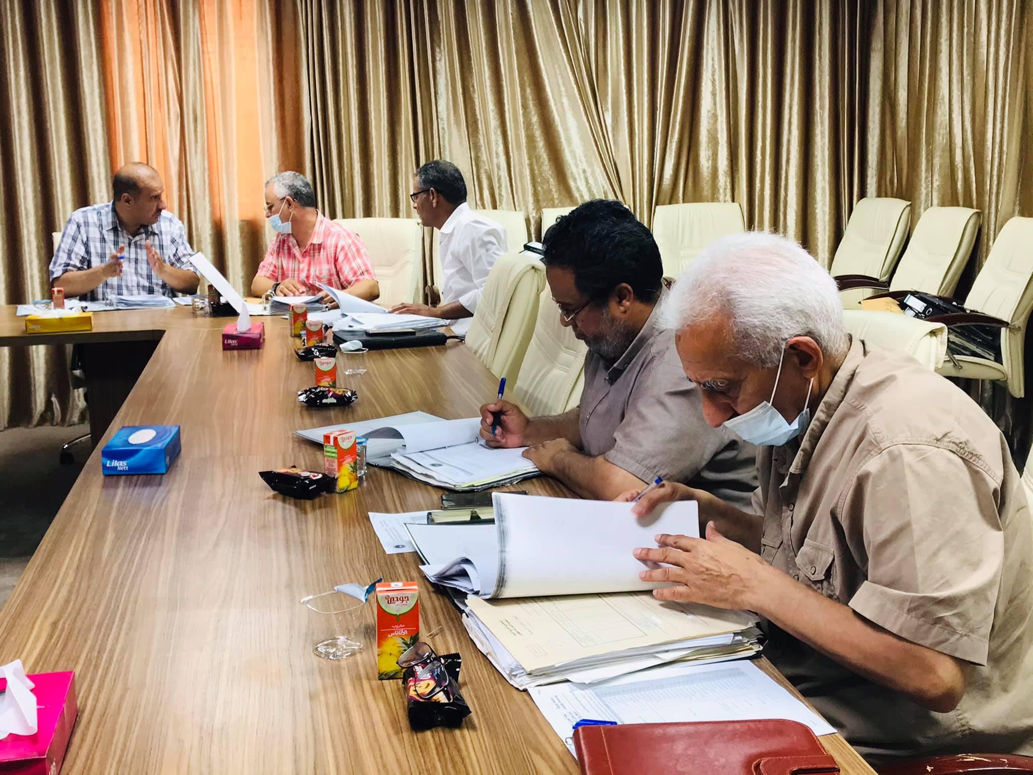 الاجتماع الثالث عشر للجنة شؤون أعضاء هيئة التدريس بجامعة صبراته