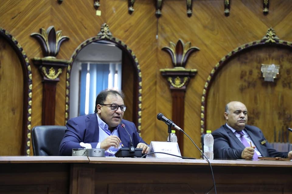 وزير التعليم العالي والبحث العلمي يجتمع برؤساء اتحادات الطلبة بالجامعات الليبية.