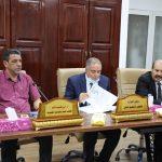اجتماع وزير التعليم العالي مع وكلا الشؤون العلمية بالجامعات الليبية